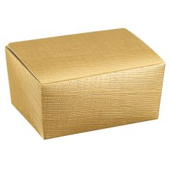 Presentask linnepräglad guld