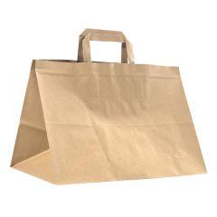 Take away kasse med platta handtag recycled