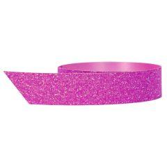 Polyband glitter rosa