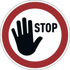 "Varseldekal ""STOP"""