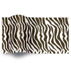 Silkespapper Zebra