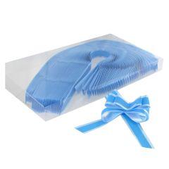 Dragrosett ljusblå
