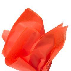 Färgat silkespapper orange