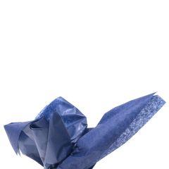 Färgat silkespapper marinblå