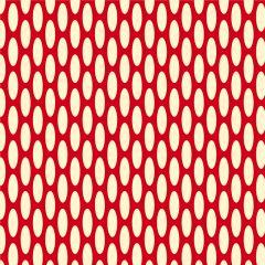 Presentpapper Oval röd