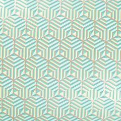Presentpapper Hexagon green