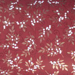 Presentpapper Snowberry red FSC
