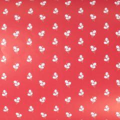 Presentpapper Berryleaf red