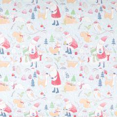 Presentpapper Santa's cute friends FSC
