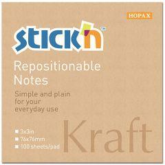 Notisblock Kraft