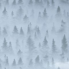 Presentpapper Foggy forest