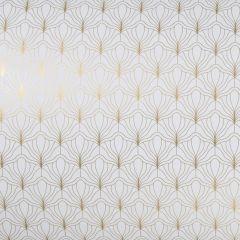Presentpapper Modern white/gold FSC