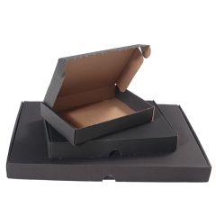 Svarta brevpack med låsning - varubrev