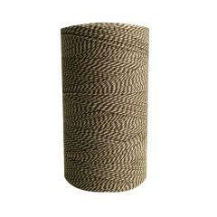 Textilgarn 2-färg brun/vit